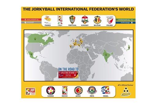 Sponsor ufficiale dei Campionati Mondiali di Jorkyball