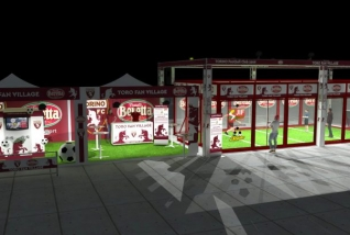 A Jorkyball court for Torino F.C.