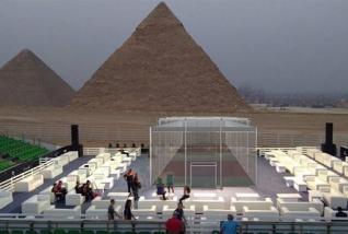 Jorkyball under the Pyramids!
